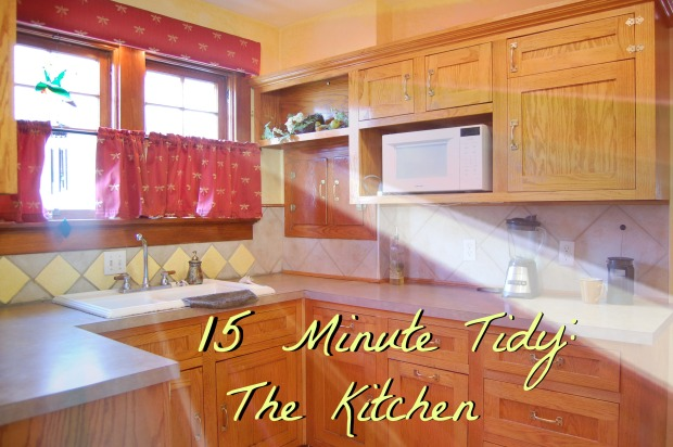 2016-03-30 15 minute tidy-The Kitchen