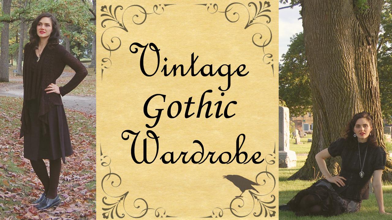 2018-10-20 1280 x 720 Vintage Gothic Wardrobe