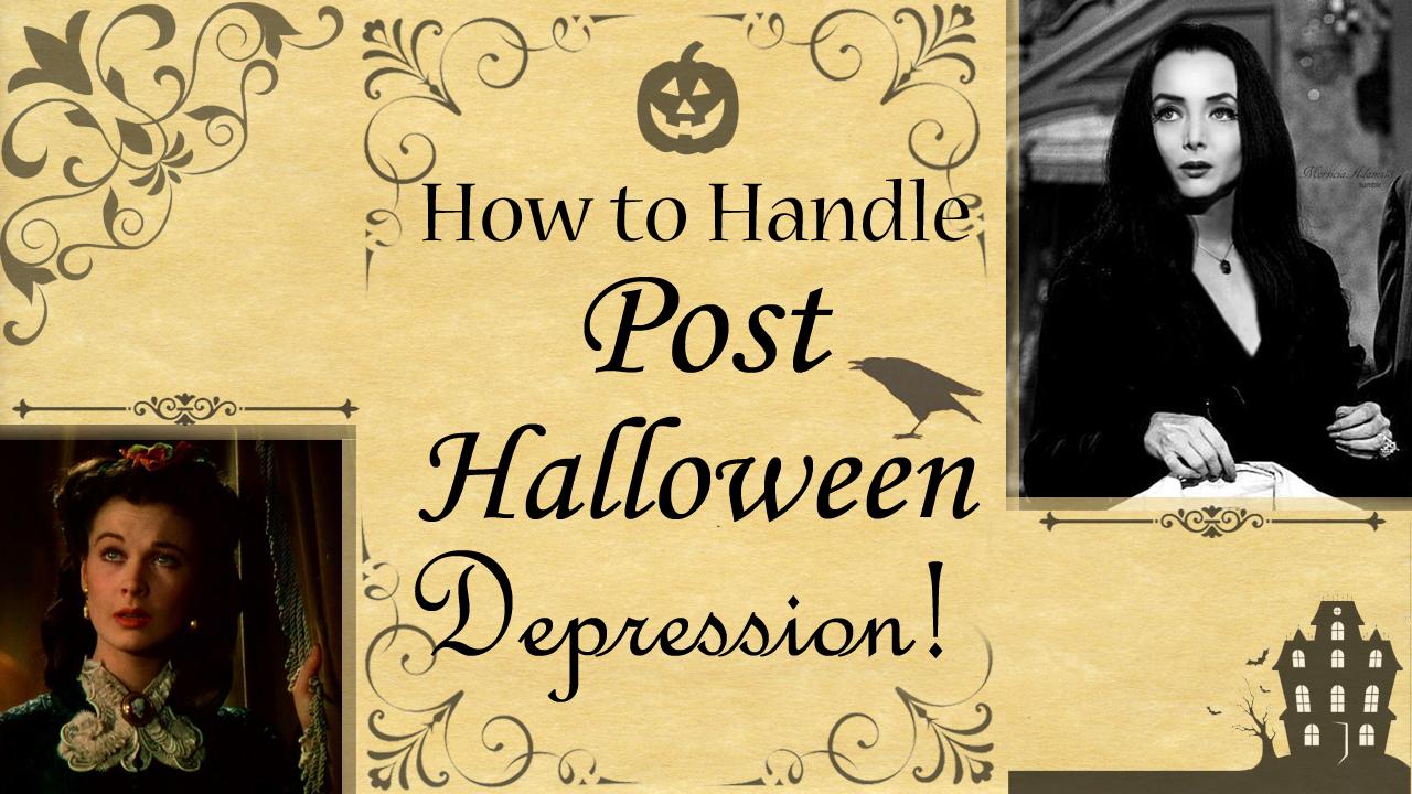 2018-11-05 Post Halloween Depression